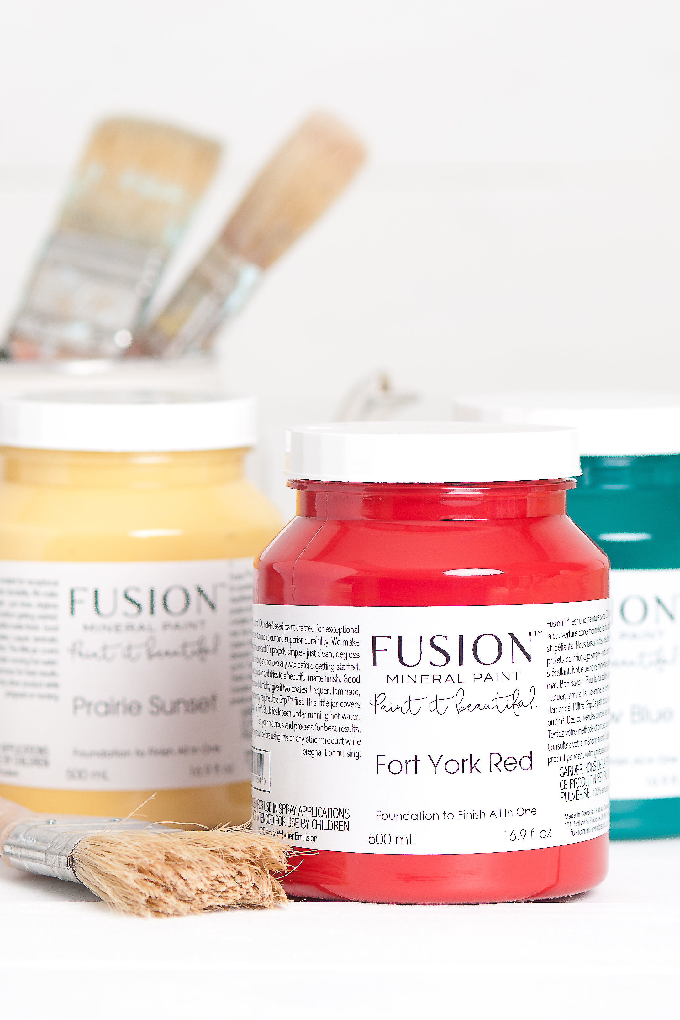 Fusion Mineral Paint     With over 50 beautiful colors to choose from, we have it all whether your project is big or small we have you covered.   Zero VOC  Minimal prep work  Easy application  Exceptional coverage  Gorgeous matte finish  No top coat required