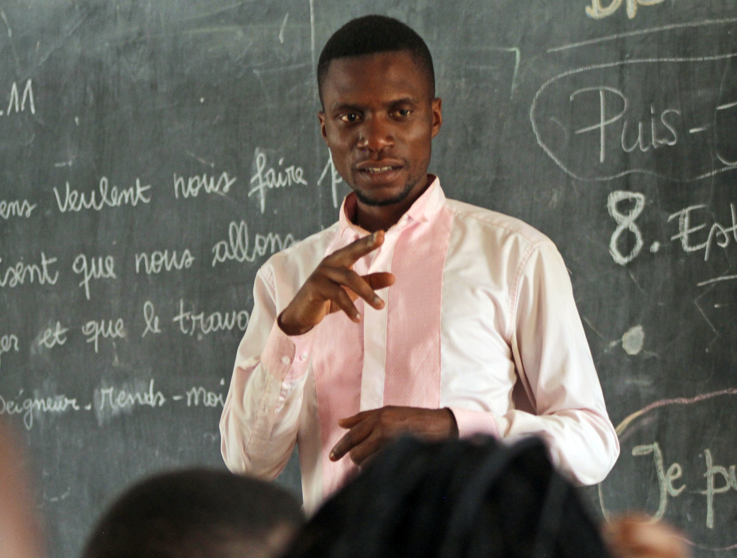 Future Hope Africa provides educational support for students in Bukavu, Democratic Republic of the Congo