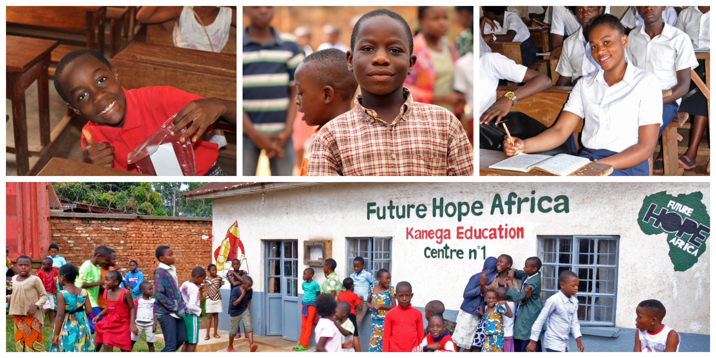 The Future Hope Africa Kanega Education Center, Bukavu, Democratic Republic of the Congo