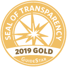 Guidestar Gold Seal of Transparency 2019, Future Hope Africa
