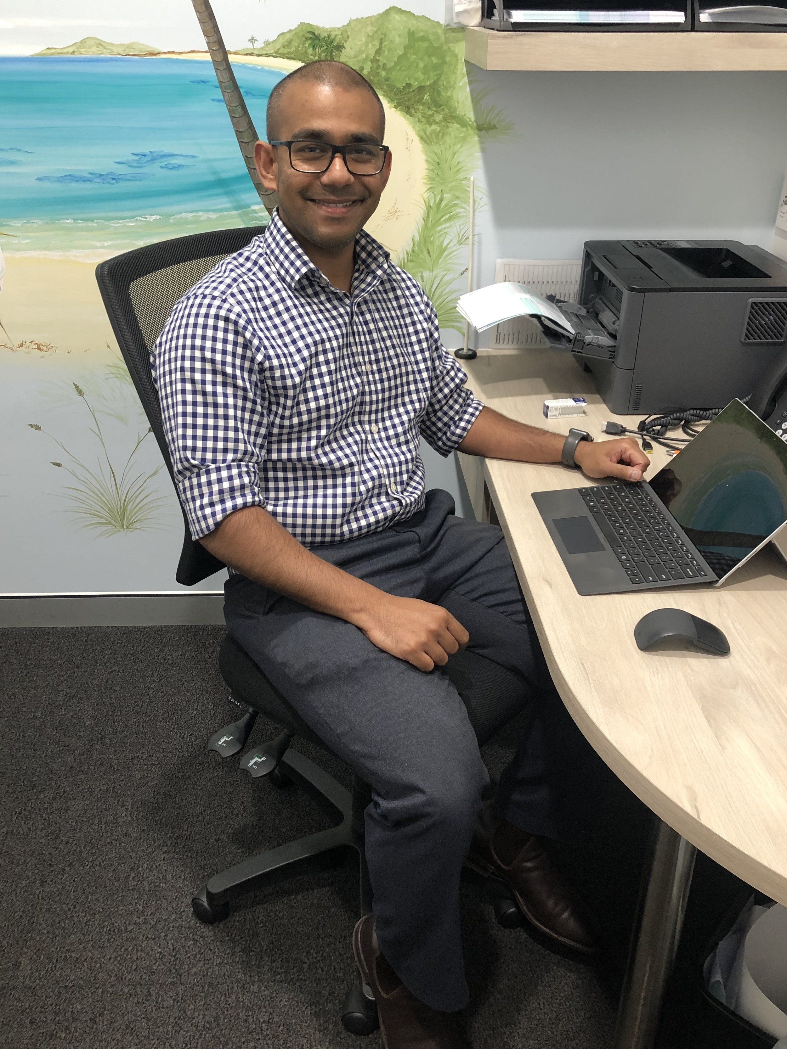 Dr Nuwan Dharmaratne - BSc Adv (Hons I Sydney University), MBBS (Australian National University) F.R.A.C.G.P; Dip Child HealthDr Nuwan Joined the team in 2015. He spent much of his childhood in northwestern Sydney and has a good knowledge of the benefits and challenges faced by patients in the area. He completed his bachelor's degree at the University of Sydney, majoring in neuroscience and was granted the university medal. He went on to study medicine at the Australian National University in Canberra and returned to Western Sydney to complete his hospital training. He subsequently obtained fellowship with the Royal Australian College of General Practitioners and also gained further qualifications in child health during this time. Nuwan enjoys the breadth and diversity of general practice. He has a special interest in paediatrics, treatment and prevention of chronic disease and men's health. Dr Nuwan is also actively involved in training the next generation of general practitioners and also works as a medical educator with GP Synergy.