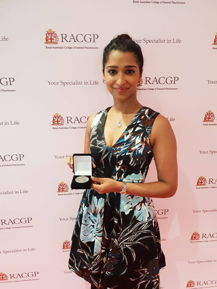 GP Registrar of the Year 2018 for NSW/ACT - We would like to congratulate our very own Dr Shashenka Withanage who won the GP Registrar of the Year Award for the NSW/ACT region 2018. We are incredibly proud of all the hard work and patient centred care that you provide here at our practice- well done!