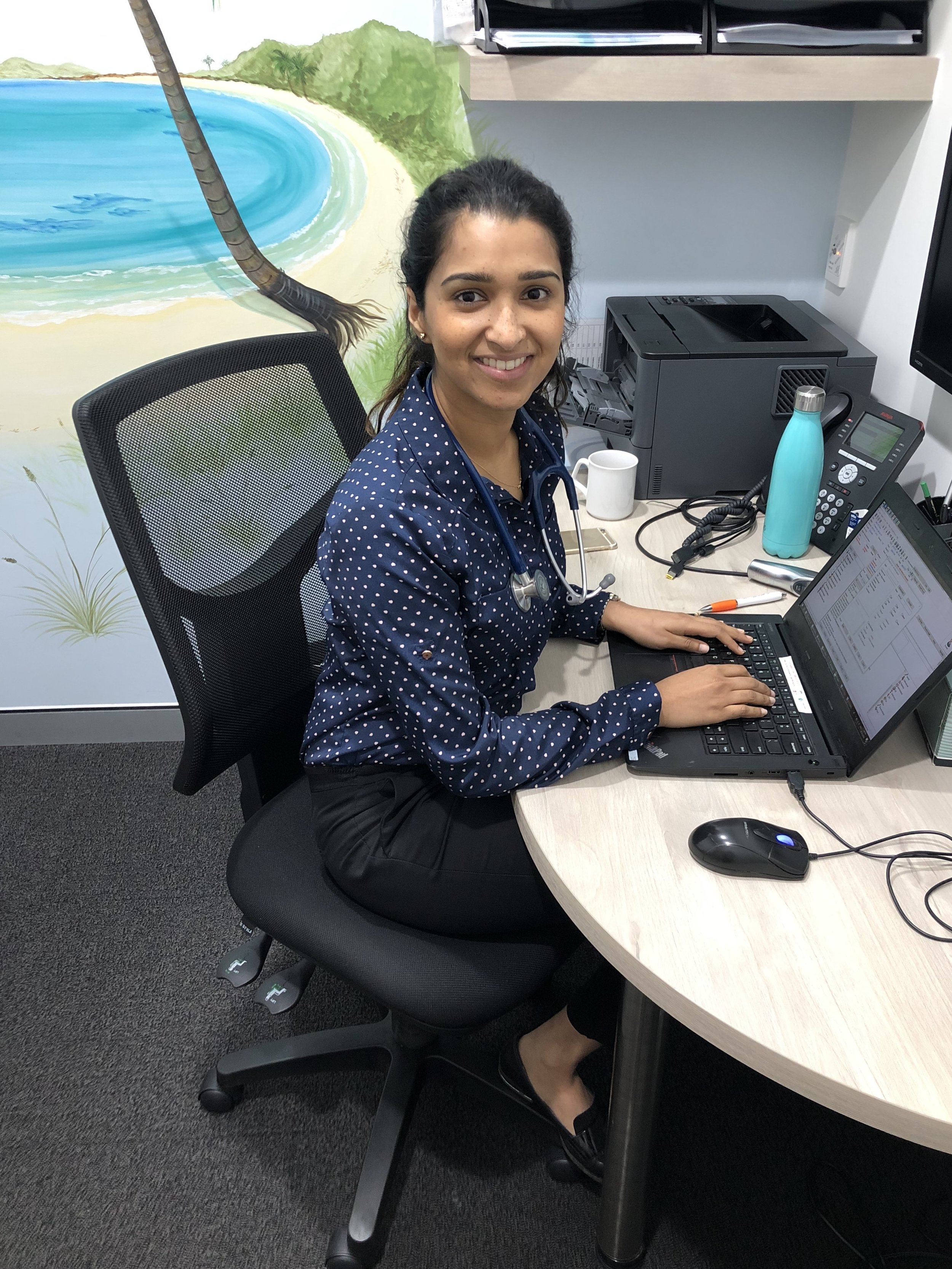 Dr Shashenka Withanage - BMed/M.D (UNSW), Family Planning Certificate (NSW Family Planning)Shashenka completed her medical degree at the University of New South Wales in 2014, graduating with Distinction. Shashenka trained at several hospitals in Sydney including Hornsby-Kuringai Hospital, St Vincent's Hospital and Mona Vale Hospital. She has a keen interest in Women's health and preventative health care. She enjoys the diversity of general practice and the holistic approach to health care that it provides.Shashenka enjoys spending her spare time with her family and friends. We are very pleased to announce that Shashenka is the 2018 NSW/ACT RACGP Registrar of the year.