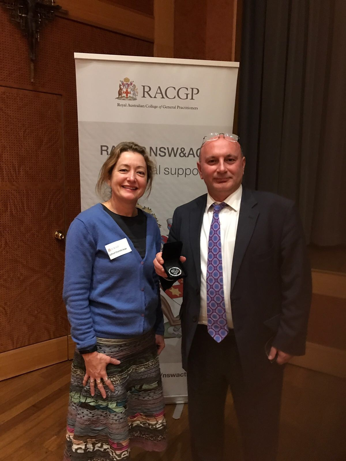 Dr Jammal- RACGP NSW/ACT GP of the Year 2017 - Congratulations to Dr Walid Jammal who was named the RACGP GP of the Year for the NSW/ACT region for 2017.