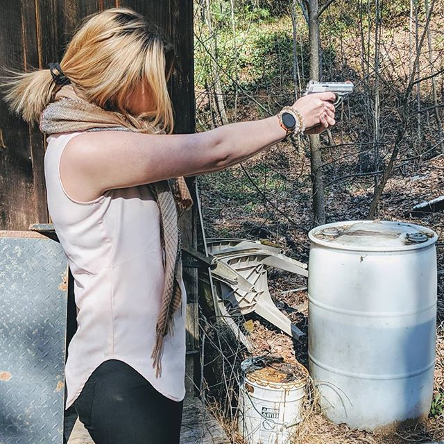 Yes I shoot like a girl. (Want a lesson?) #2A 2ndamendment