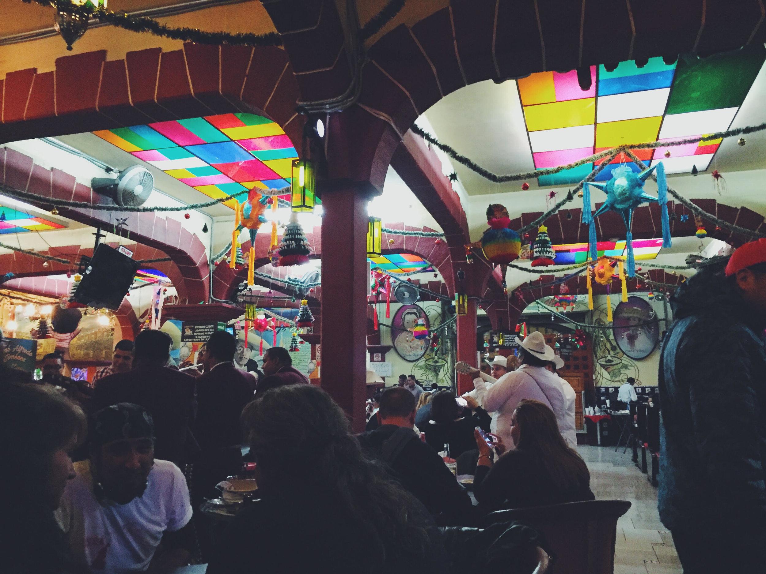 Salon Tenampa at Plaza Garibaldi