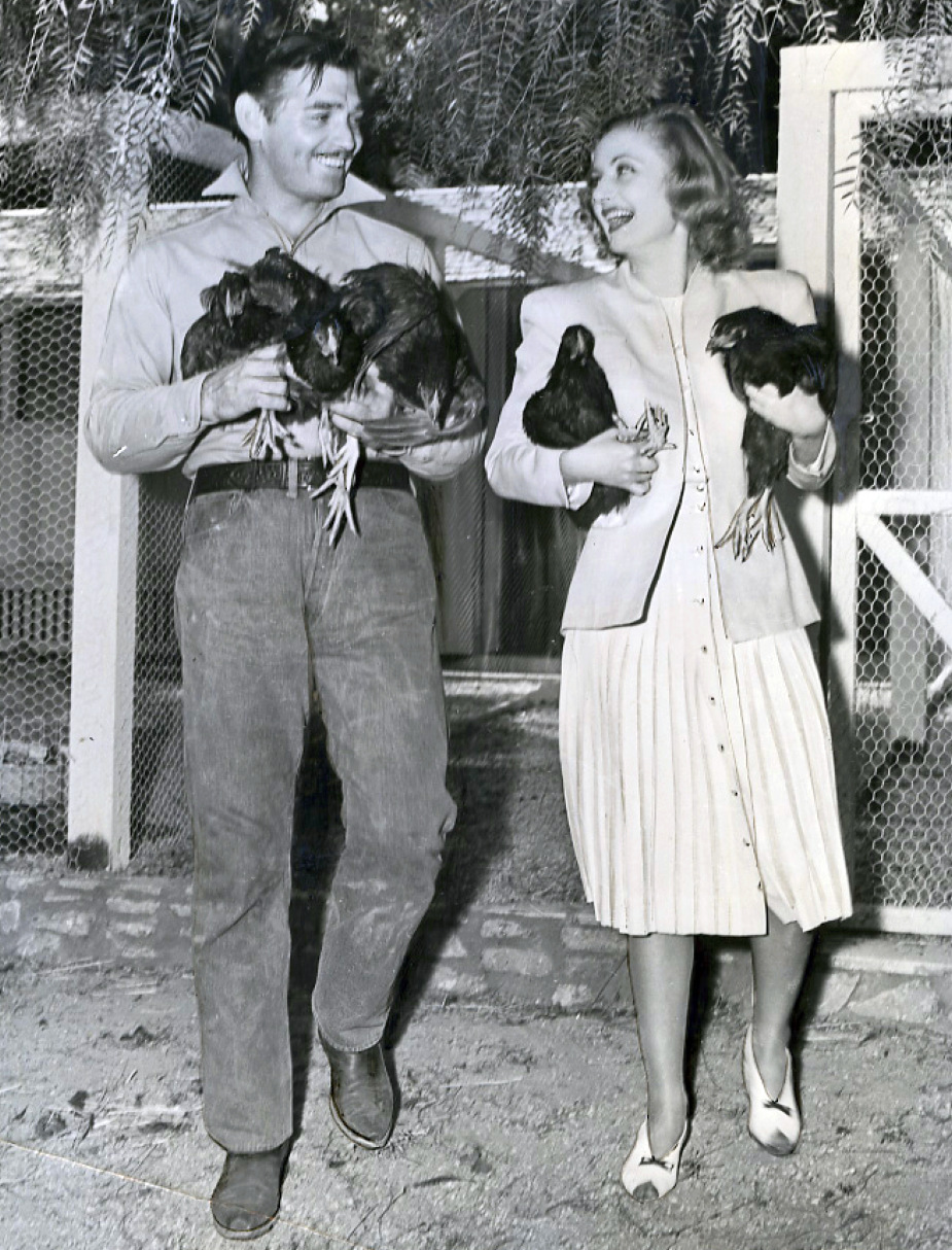 Clark Cable and Carole Lombard