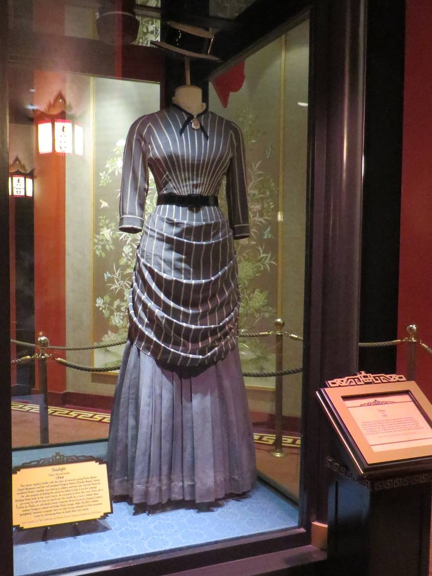 Costume on exhibit at Walt Disney Resorts