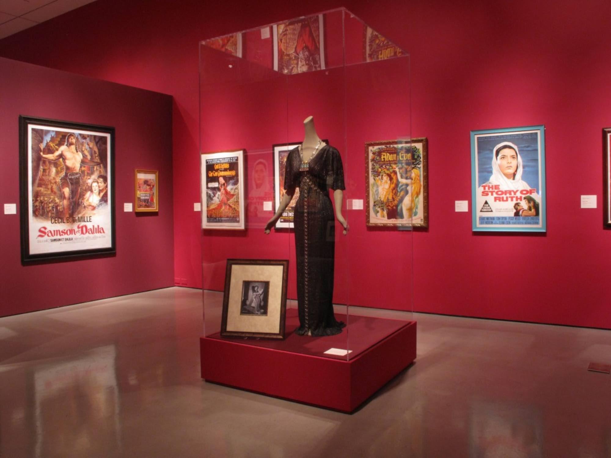 "Museum of Biblical Art- New York, New York February 6, 2009- May 17, 2009 Piece shown in photo: Nina Foch, ""The Ten Commandments,"" Paramount, 1956, Edith Head"