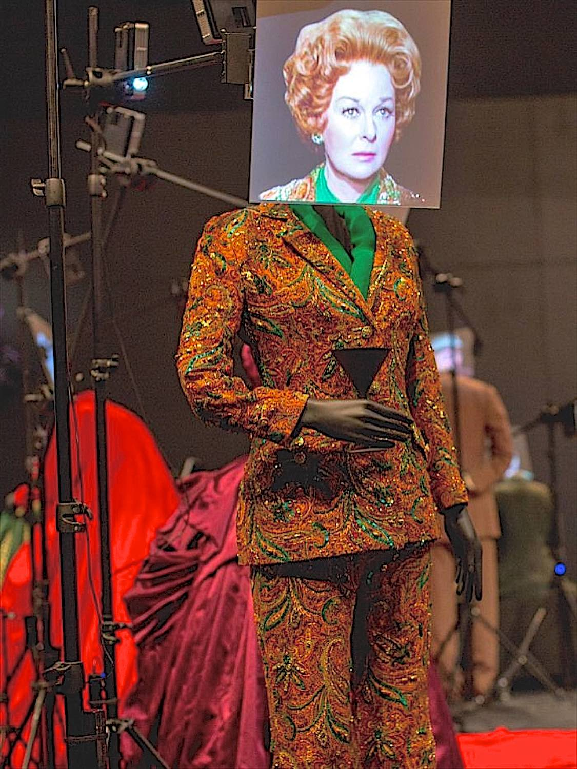 Costume on display at the Academy Museum of Motion Pictures