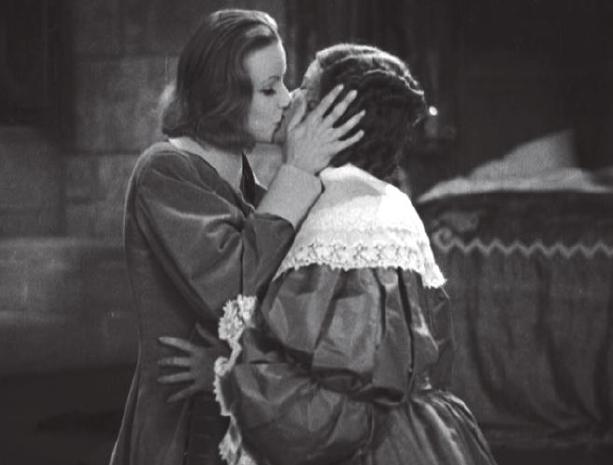 Greta Garbo and Elizabeth Young (1933)