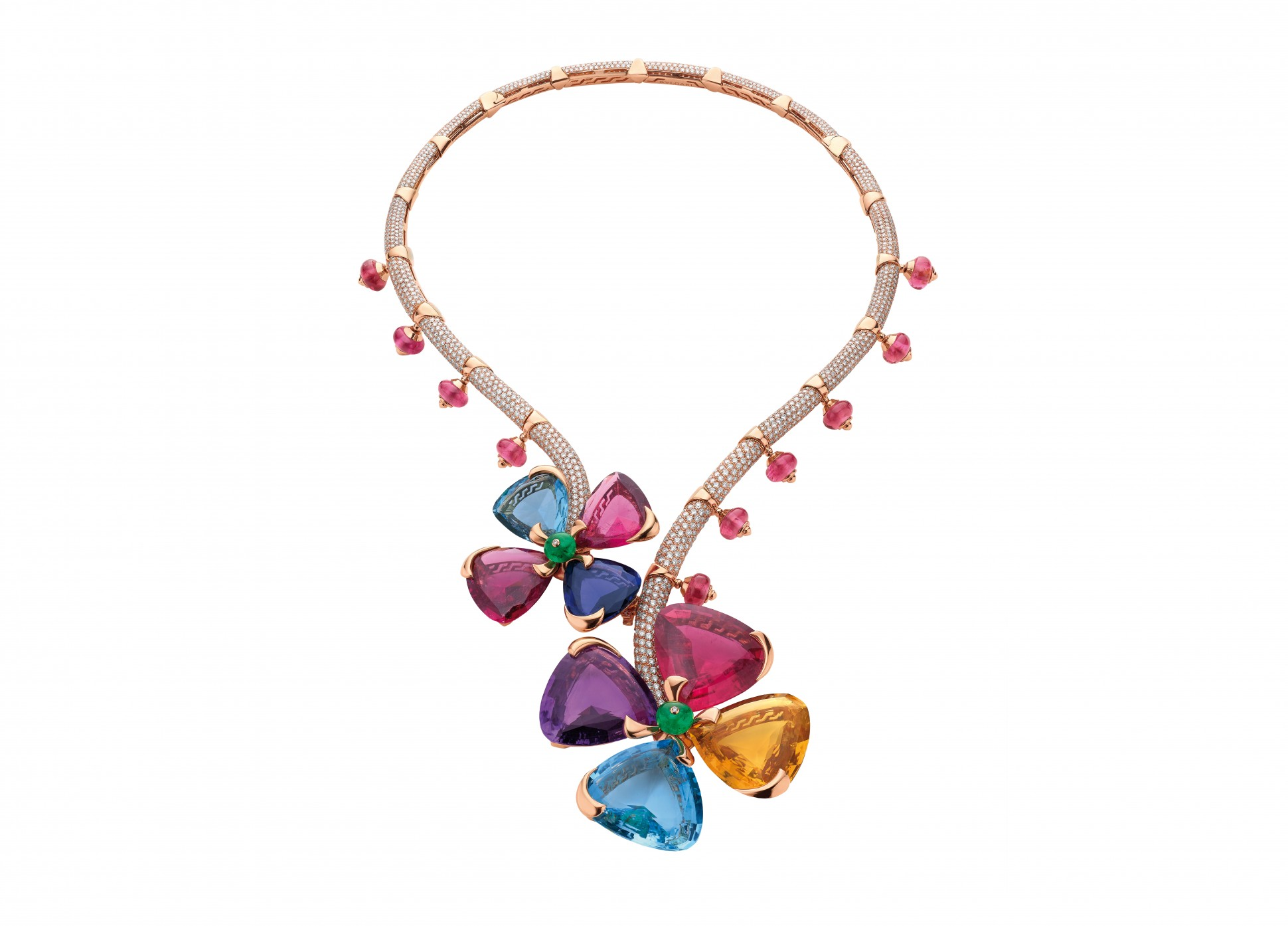Bulgari's Secret Garden necklace