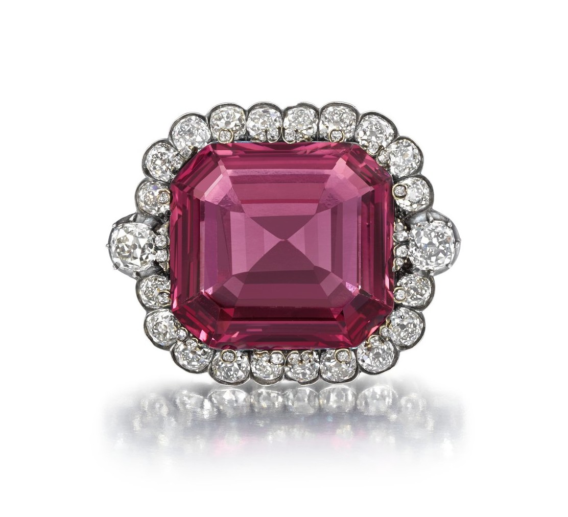 The Hope Spinel diamond