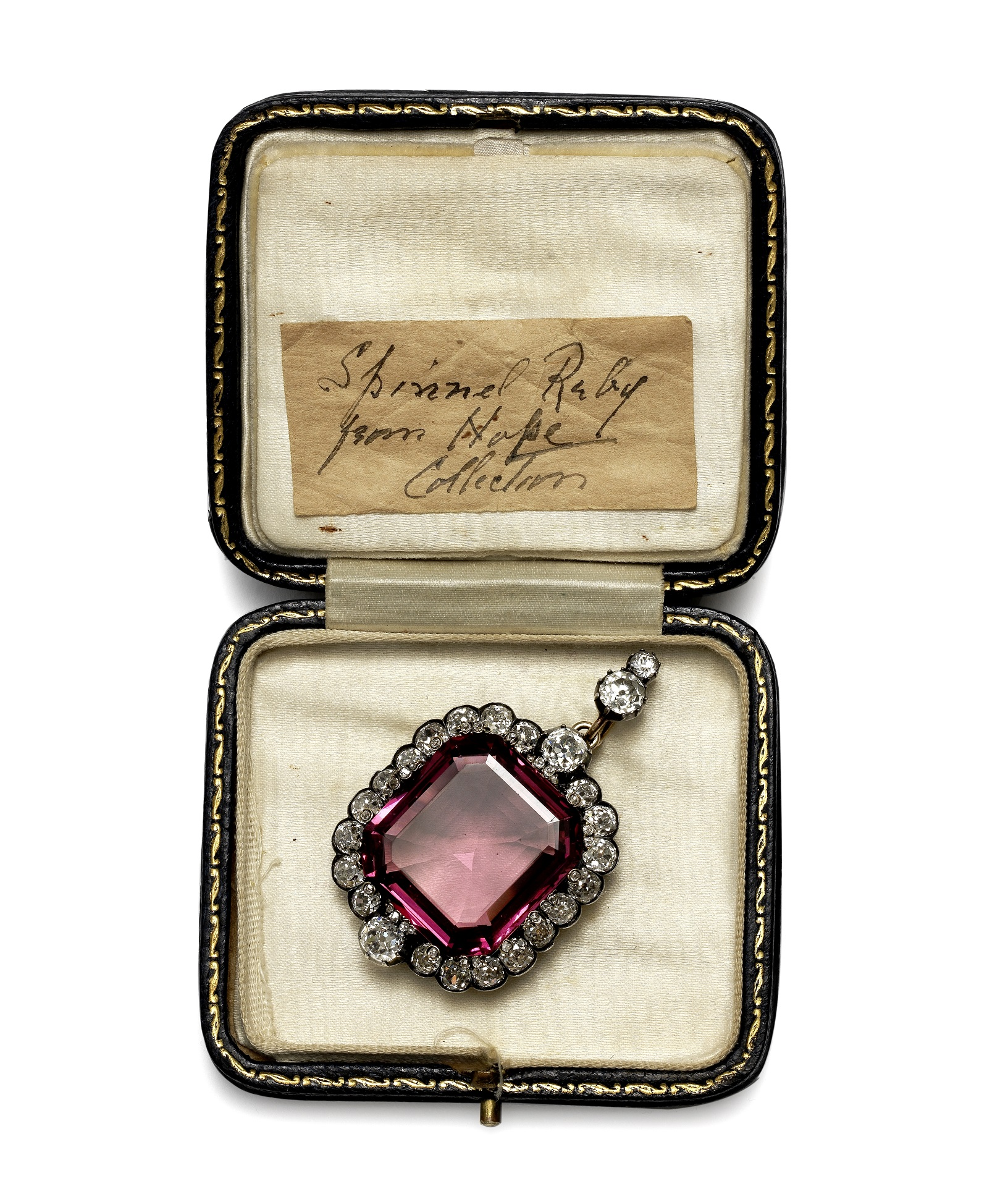 Hope Spinel Diamond with Note