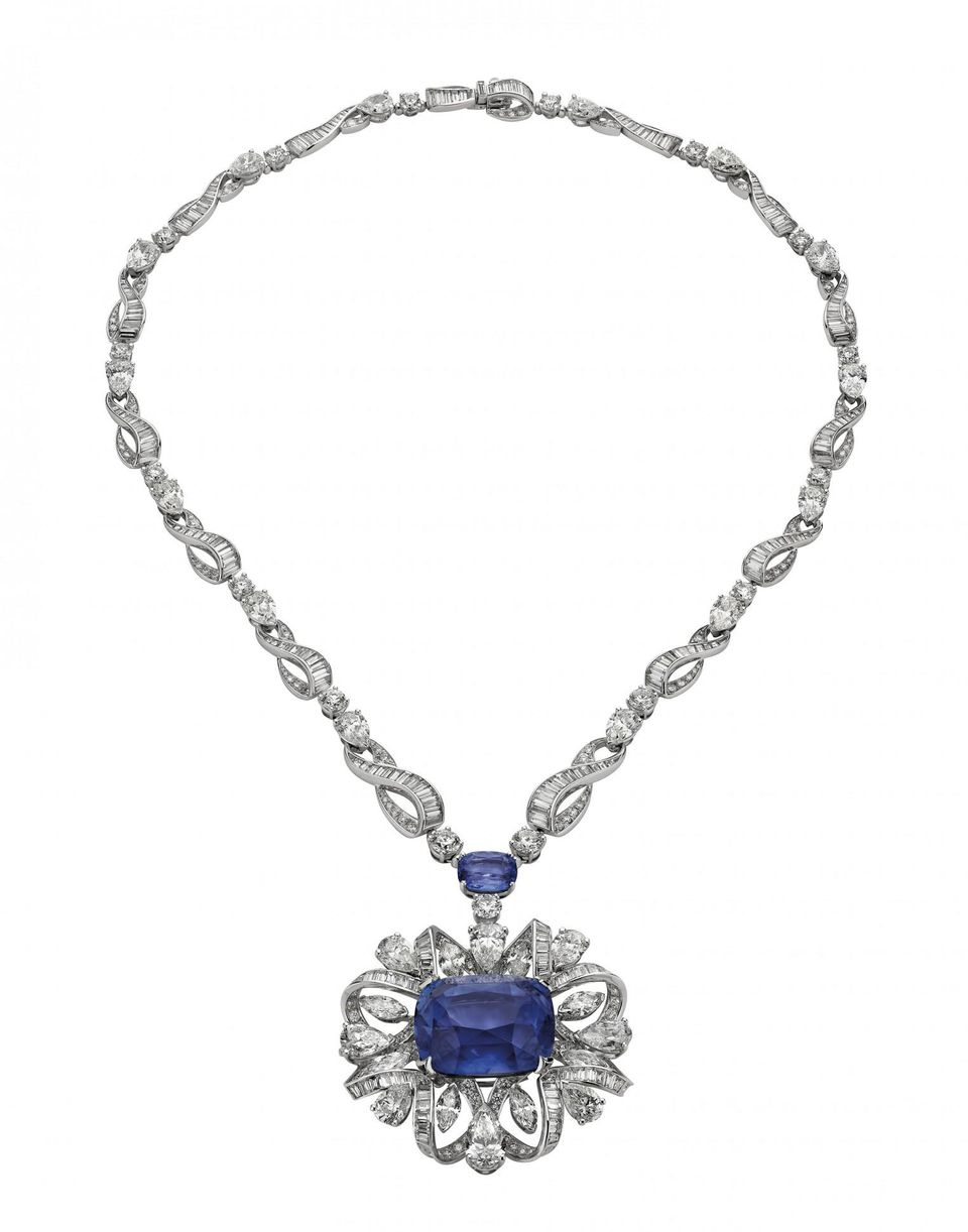 Bulgari's Water Symphony necklace that converts into a bracelet