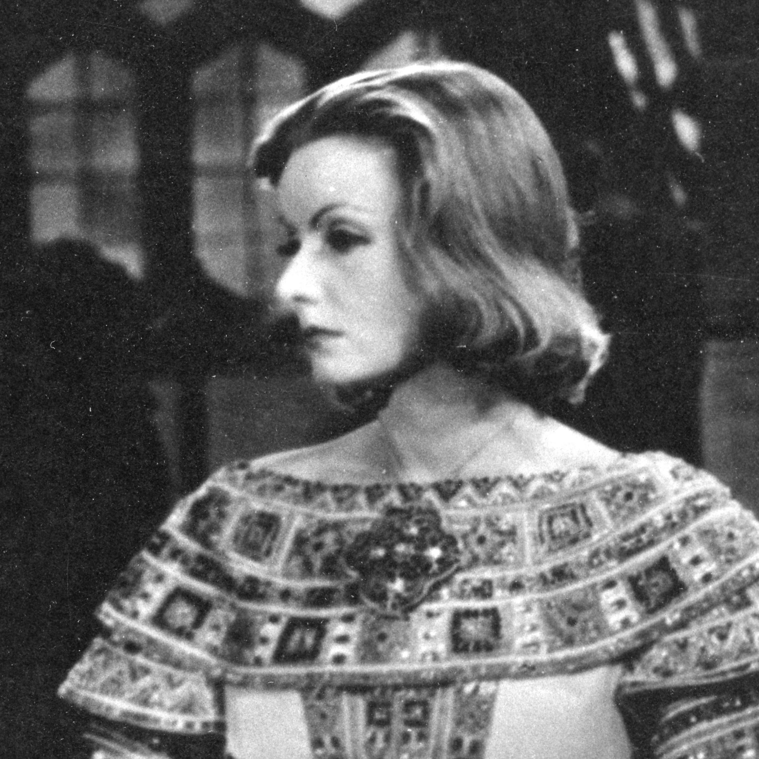 Greta Garbo in the film classic - Queen Christina