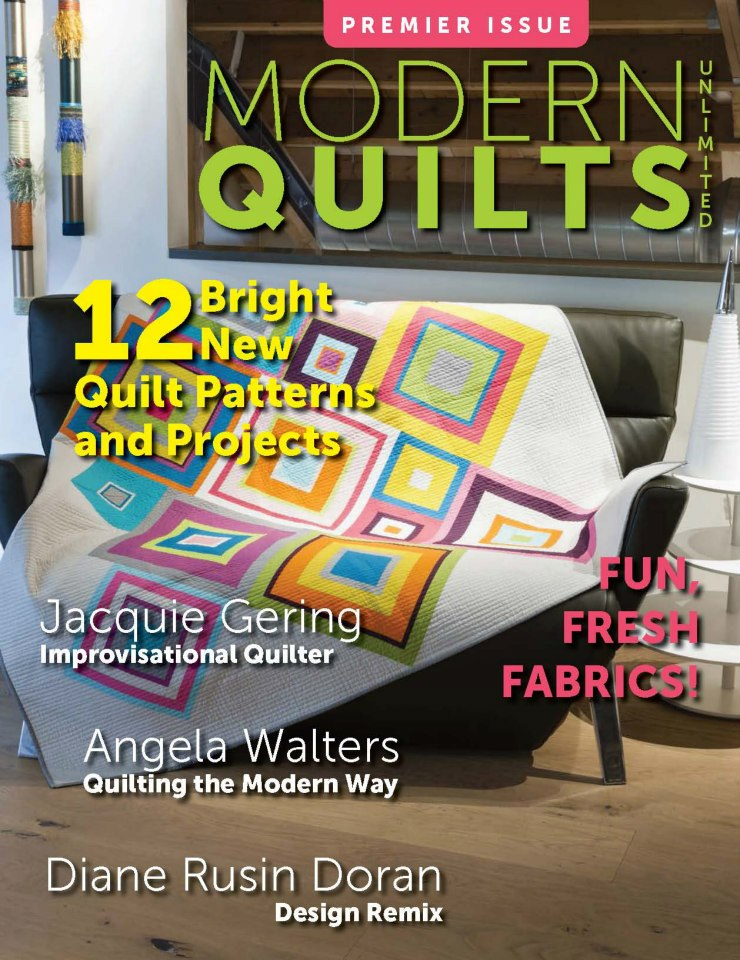 Modern Quilts Unlimited / Fall 2012