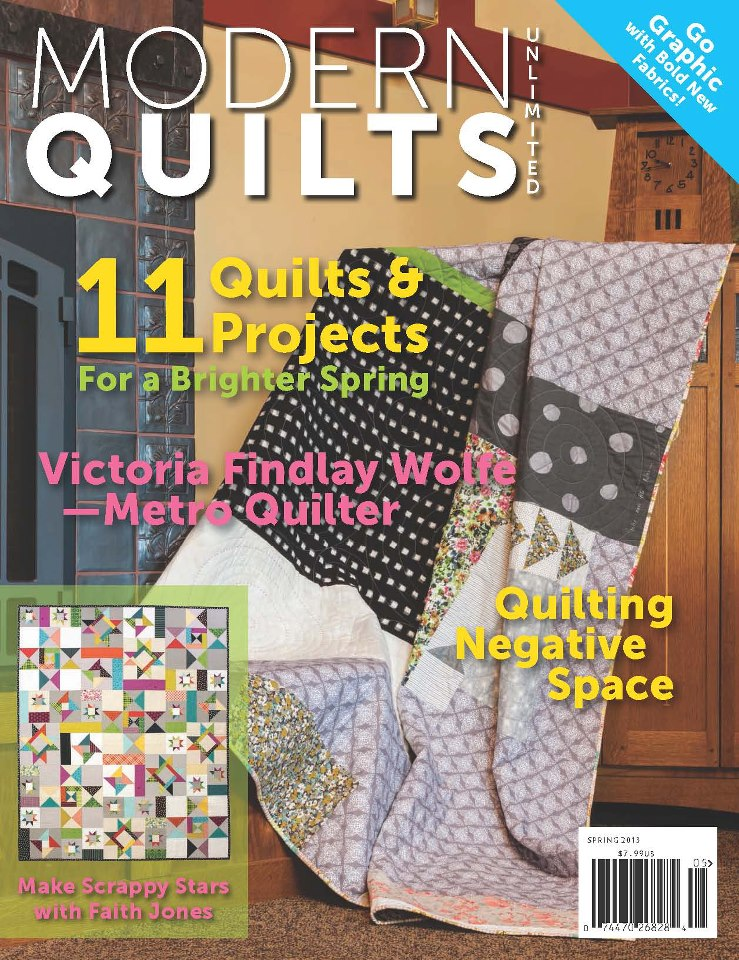 Modern Quilts Unlimited / Spring 2013