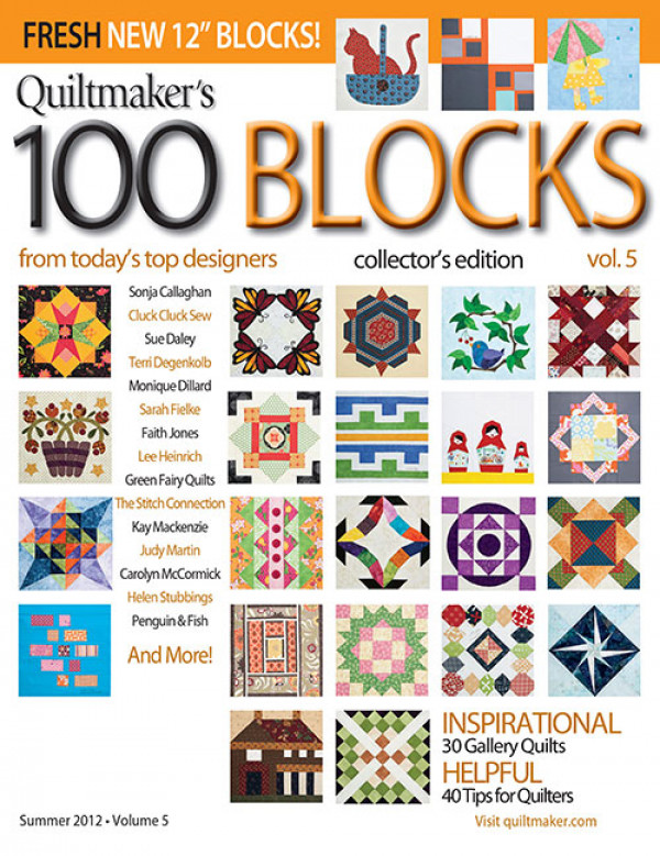Quiltmaker 100 Blocks / Vol. 5