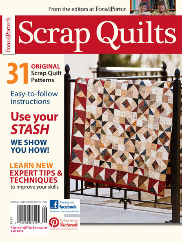 Fons & Porter Scrap Quilts / Fall 2012