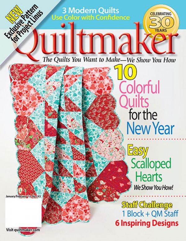 Quiltmaker / Jan/Feb 2012