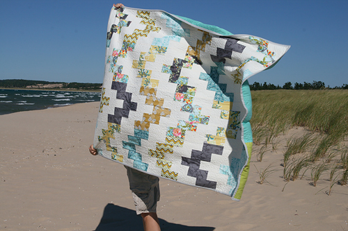 Belle Wave Quilt Pattern by Fresh Lemons Quilts : Faith