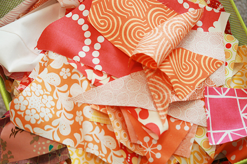 Scraps by Faith Jones of Fresh Lemons Quilts