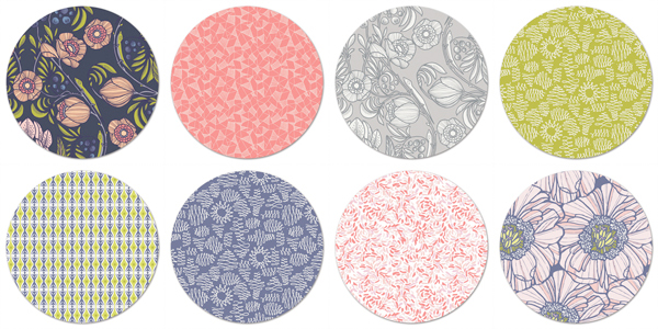 Luxe in Bloom by Sarah Watson for Art Gallery Fabrics