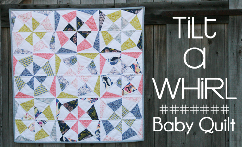 Tilt a Whirl Quilt Pattern by Fresh Lemons Quilts : Faith