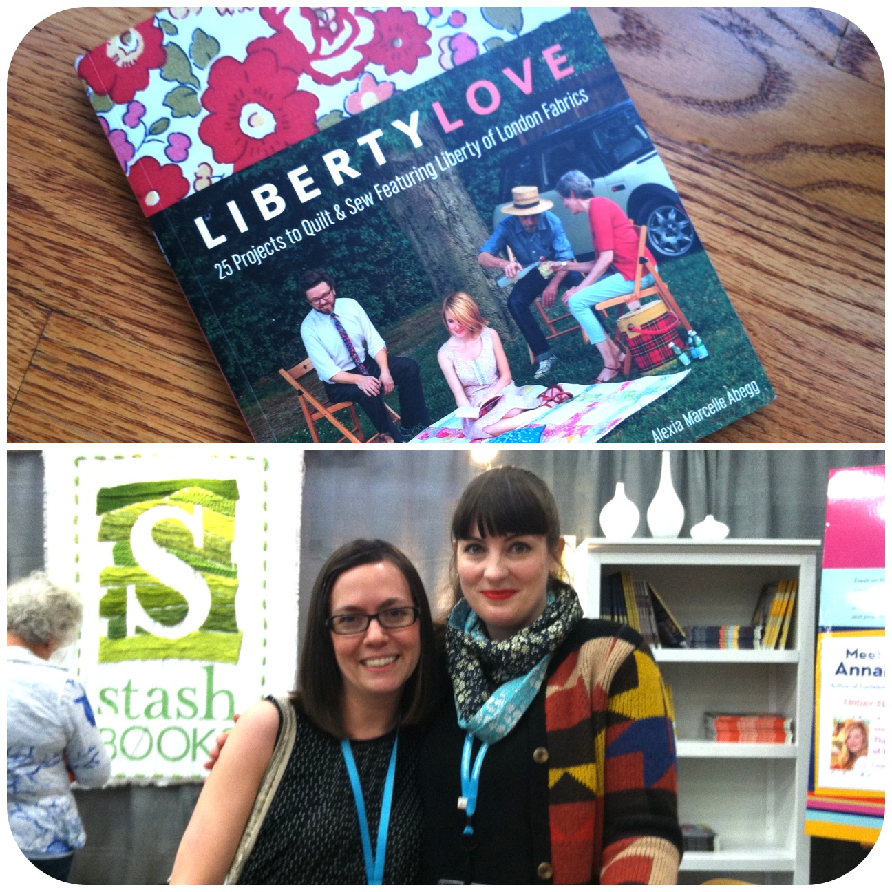 QuiltCon 2013: Liberty Love by Alexia Abegg