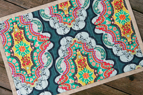 Mod Stack Placemat Pattern by Fresh Lemons Quilts : Faith