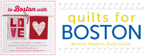 To Boston With Love and Quilts for Boston