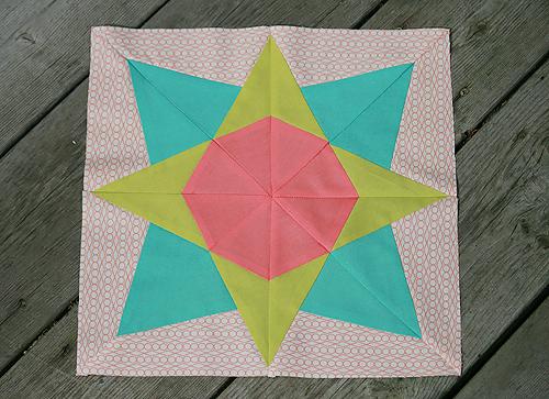 Quiltmaker 100 Blocks, vol 7 - Block by Faith of Fresh Lemons Quilts
