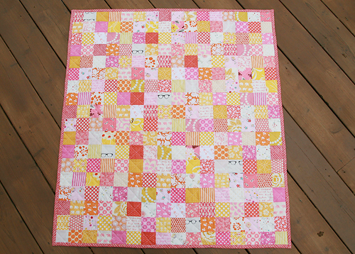 Sherbet Patchwork by Fresh Lemons Quilts: Faith