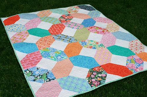 A Quilt for a Teacher by Fresh Lemons Quilts : Faith