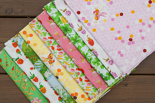 Briar Rose by Heather Ross for Windham Fabrics ~ Fresh Lemons Quilts