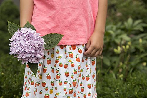 Briar Rose Knit Skirt by Fresh Lemons Quilts : Faith