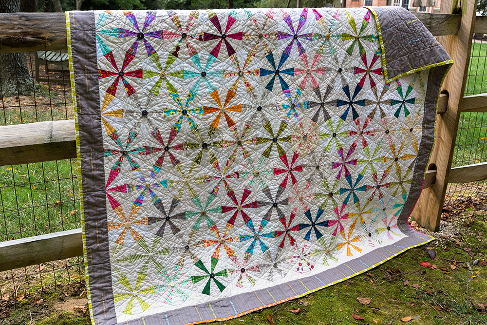 Quilt by Lorellen Moore, mom of Faith of Fresh Lemons Quilts