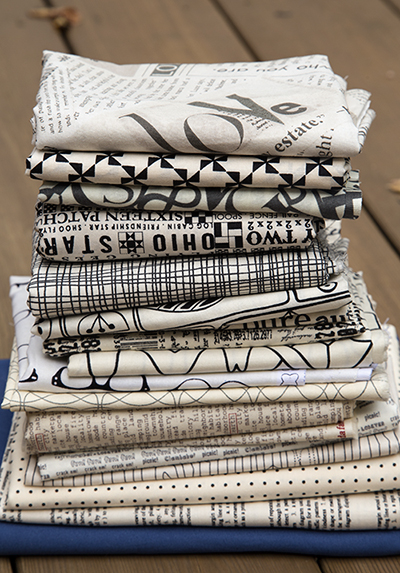 Arkansas Traveler Fabric Choices by Fresh Lemons Quilts : Faith
