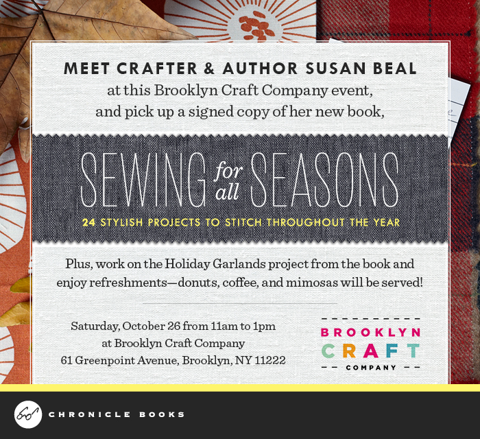 Sewing for All Seasons Garland, Fresh Lemons Quilts : Faith