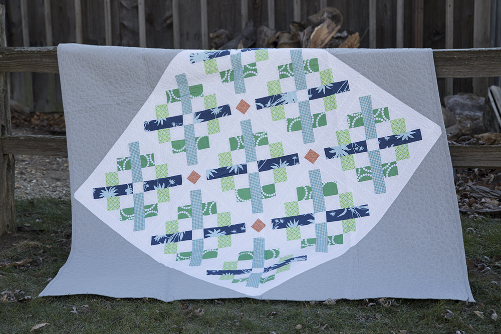 Cross Point Quilt, Pattern from Vintage Quilt Revival : Fresh Lemons Quilts