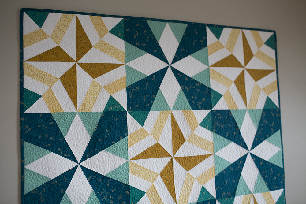 Stardust Quilt by Fresh Lemons Quilts : Faith