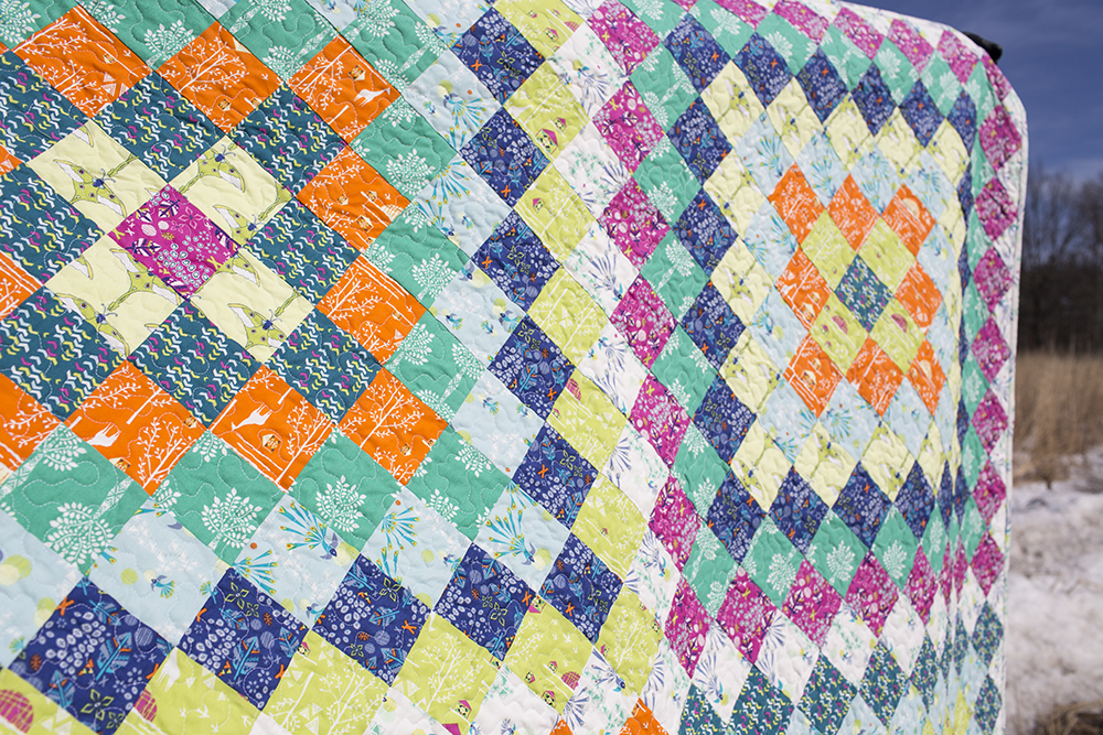 Saddle Up Quilt by Fresh Lemons Quilts