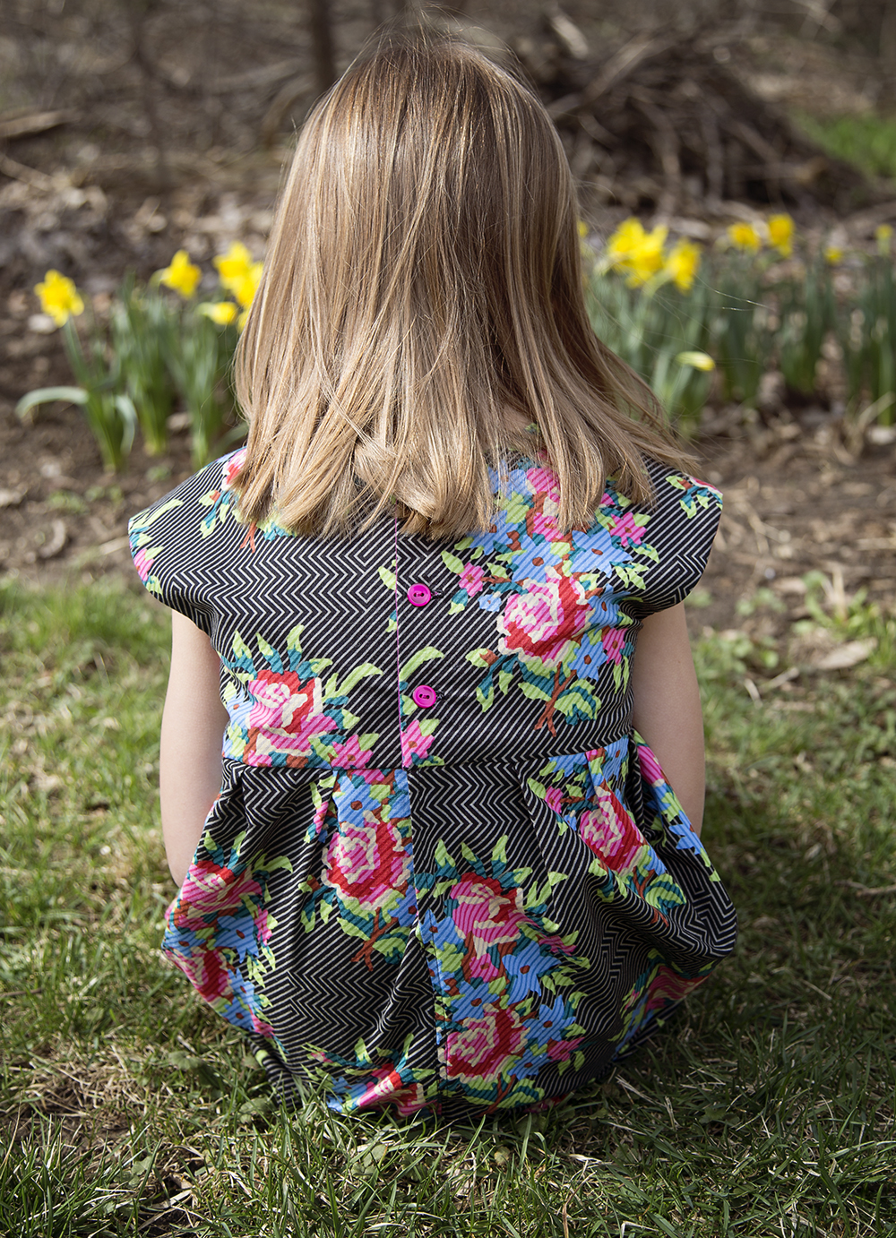 Geranium Dress, pattern by Made by Rae : Fresh Lemons Quilts
