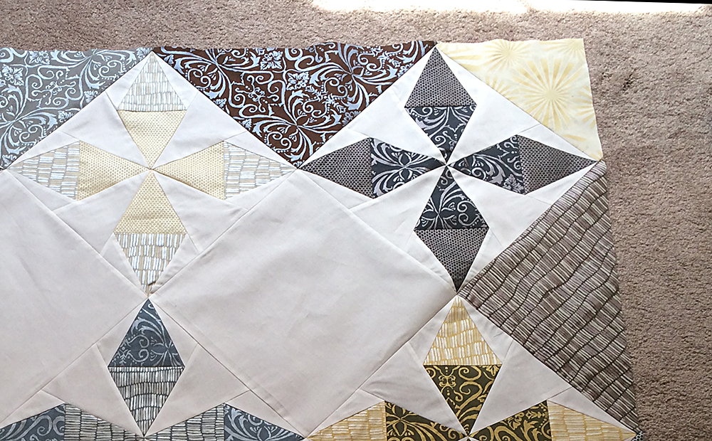 Shimmer Quilt by Fresh Lemons Quilts : Faith