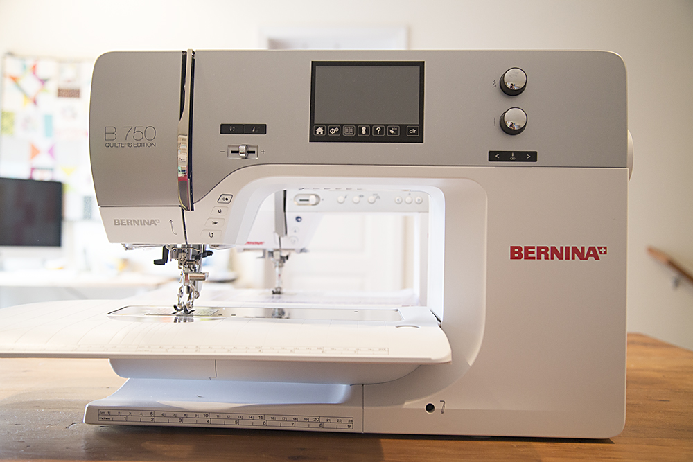 Bernina 440 and 750 : Fresh Lemons Quilts