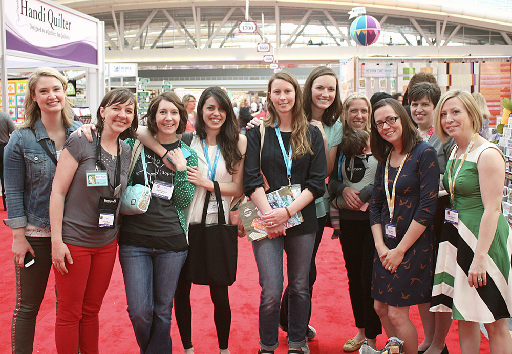 Quilting Bloggers photo from Amy Smart