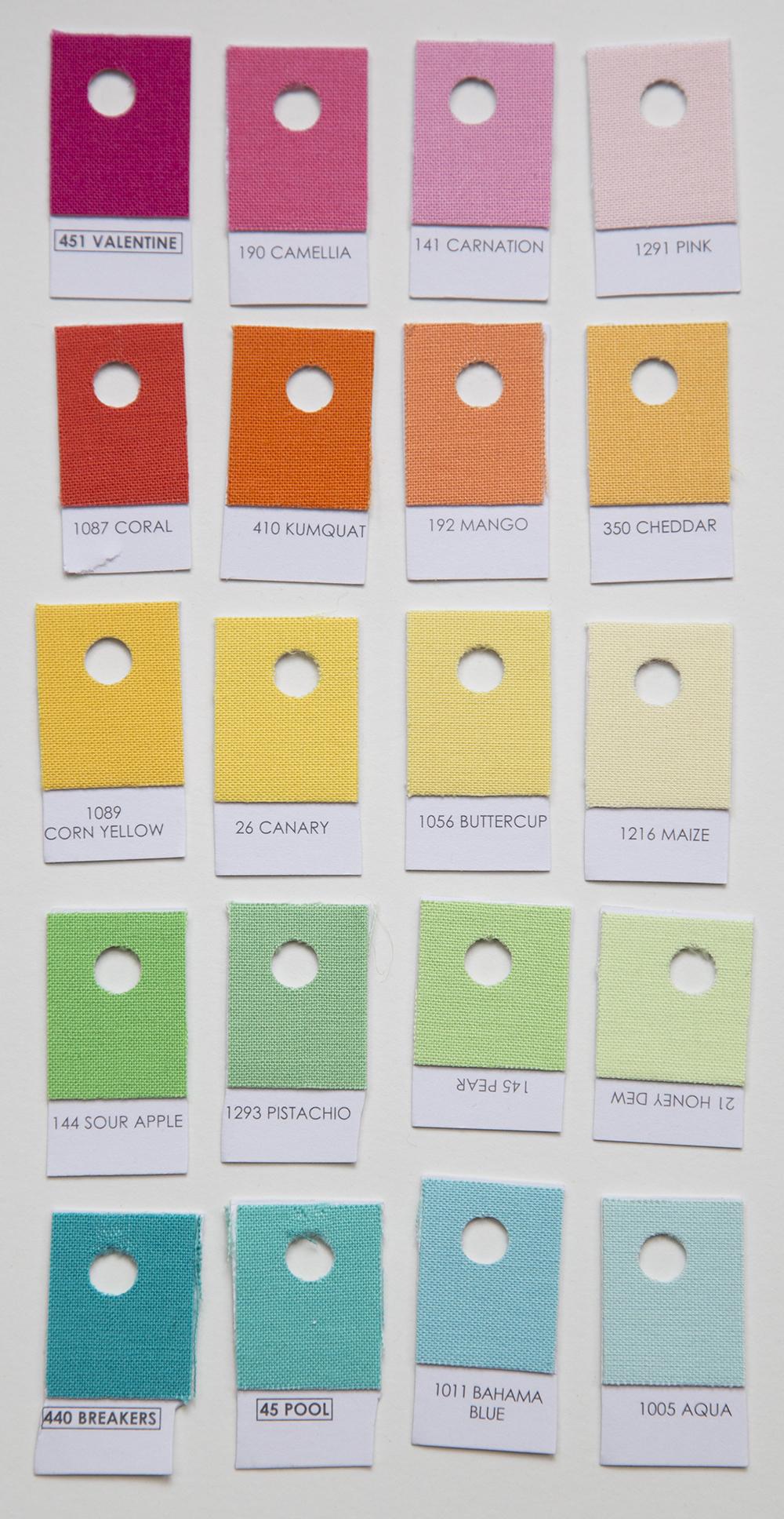 Kona Cotton Solids : Fresh Lemons Quilts