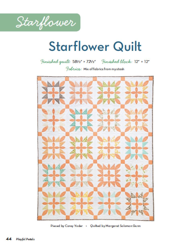 Playful Petals Starflower : Fresh Lemons Quilts