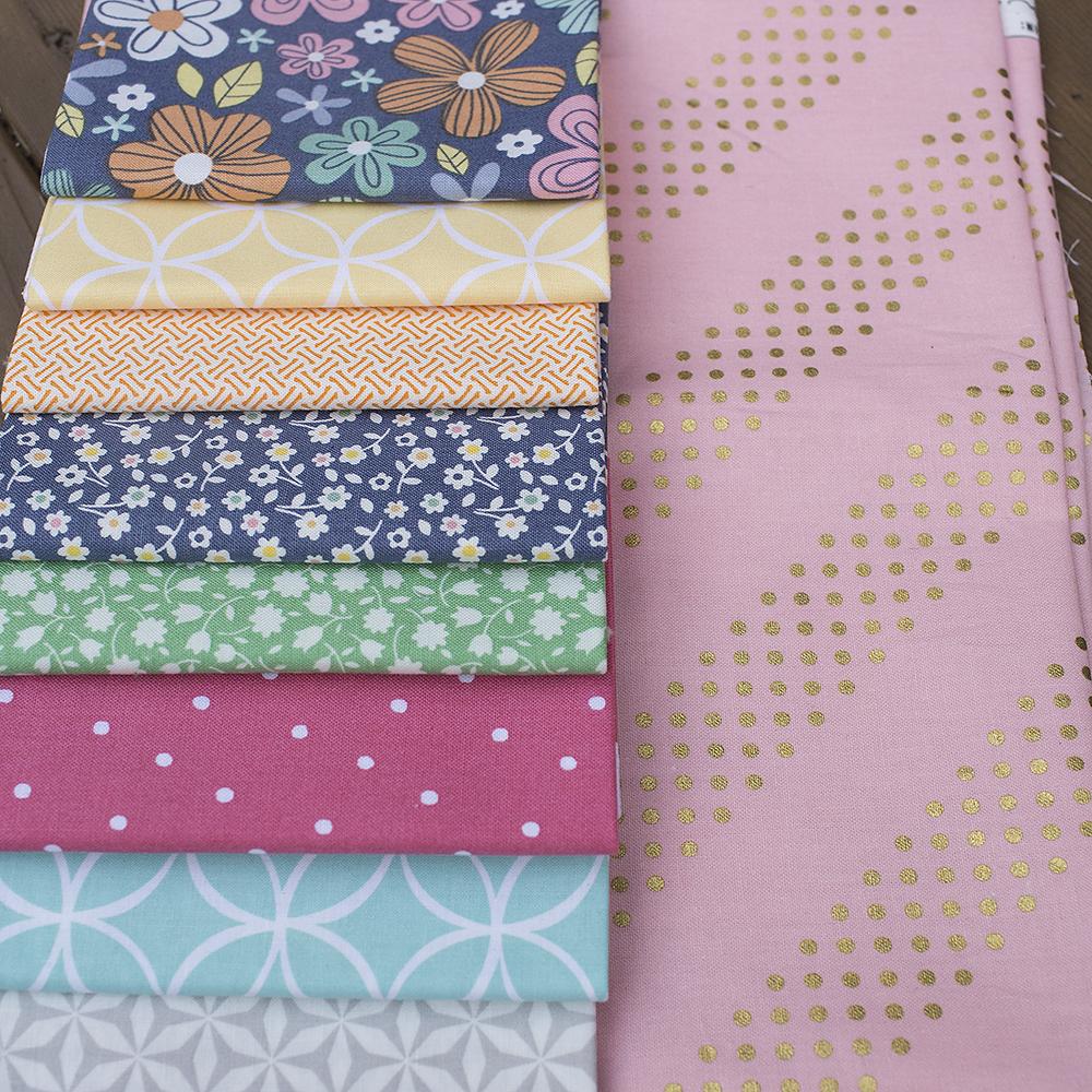 Fort Worth Fabric Studio - Fresh Lemons Quilts Birthday Bundle + Cotton and Steel